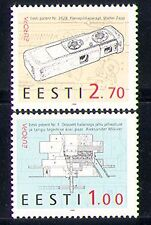 Estonia 1994 EUROPA/Fotocamera/Mulino/brevetti/fotografia/Invenzioni Set 2 V (n31069)