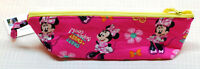 Minnie Mouse 100% Cotton Pencil Pouch Makeup Bag Hand Made in U.S.A;  NEW w tags