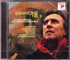 Claudio ABBADO: BEETHOVEN Symphony No.9 Eaglen Waltraud Meier Heppner Terfel CD