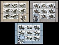 2011. Belarus. Equestrian Sport. Panes/sheets. MNH