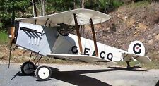 1/7 Scale Avro 534 Baby Biplane Plans and Templates 44ws