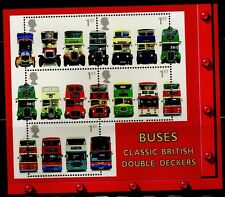 GB 2001 Double Decker Bus SG MS2215 MNH Mint