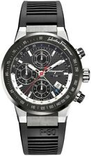 Ferragamo Men's F55LCA78910 S113 F-80 Swiss Automatic Chronograph Titanium Watch