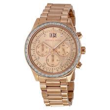 Michael Kors MK6204 Brinkley Rose Gold Womens Watch