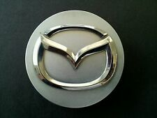 MAZDA MPV SILVER/CHROME CENTER WHEEL CAP / GENUINE MAZDA CENTER WHEEL CAP