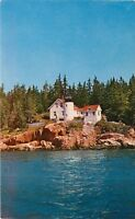 Bass Harbor Light Acadia National Park Mt Desert Island Maine MN Postcard