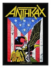 ANTHRAX - Patch Aufnäher Judge Dredd 10 x 10cm