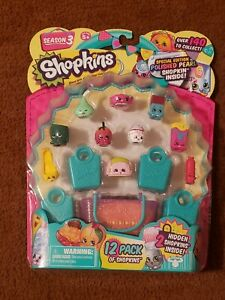 SHOPKINS Season 3 Polished Pearl 12 Pack 2 Rare Special Edition -
