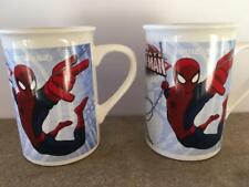 Lot of (2) Marvel, ULTIMATE SPIDER-MAN, 2014 Pottery Coffee Cocoa Cup Mugs
