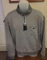 Pebble Beach Gray 1/4 Zip Shirt Size Medium NWT