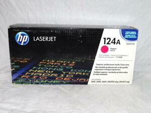 HP 124A Magenta NEW Toner Print Cartridge Authentic Laserjet Printer Ink (Q6003A