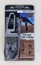 T Post Stepper With Camo Holster Helps You Step Over Fencing Fast Shipping