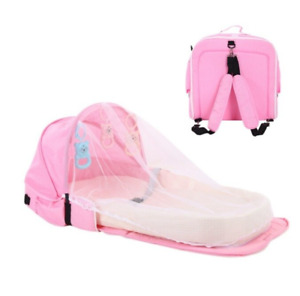 Pregnancy Happy™ - Mosquito and Sun Protection Portable Baby Crib