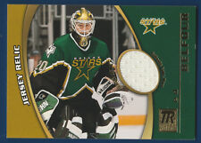 ED BELFOUR 01-02 TOPPS RESERVE 2001-02 JERSEY RELIC TR-EB GAME WORN JERSEY 26022
