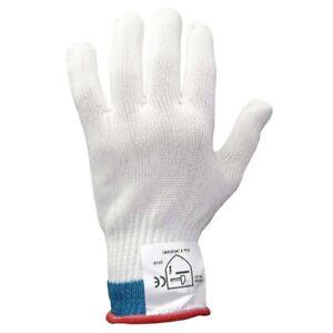 Schnittschutzhandschuh Größe S (weiß)