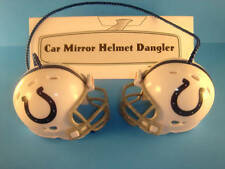 INDIANAPOLIS COLTS CAR MIRROR NFL FOOTBALL HELMET DANGLER - HANG FROM ANYTHING!
