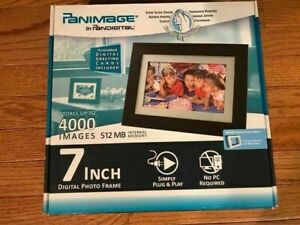 "Pandigital Panimage 7"" LED Digital Photo Frame"
