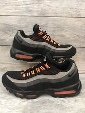 Nike Air Max 95 Halloween Mens Size 13 Black Orange Grey 609048-054 Preowned