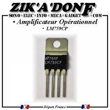 Amplificateur opérationnel de puissance LM759CP (Expédié depuis la France)