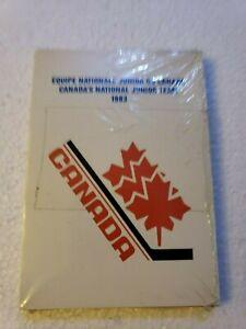 1983 Team Canada World Junior Team set SEALED Mario Lemieux Steve Yzerman Rookie