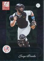 Jorge Posada 2001 Donruss Elite #126 New York Yankees Baseball Card