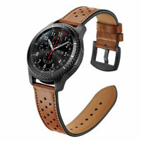 Genuine Leather Watch Band For Samsung Galaxy Watch 46mm 42mm and 22mm watches