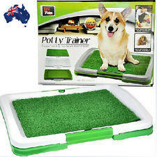 Portable Indoor Pet Dog Toilet Training Puppy Potty Pad Tray Loo PTOIL3346