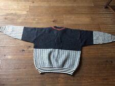 Mens norwegian jumper Sweater by Nordfolk Bomwool