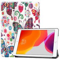 Housse de Protection pour Apple IPAD 10.2 Smart-Cover Étui en Forme Livre Stand