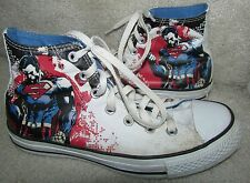 Converse Superman Man of Steel Shoes Sneakers DC Comics Chuck Taylor 119938F