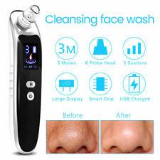 8Pcs Vacuum Acne Pore Cleaner Blackhead Remover Electric Facial Cleanser Facial