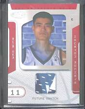 2002-03 Fleer Hoops Hot Prospects Rookie Relic #81 Yao Ming No 298 of 500