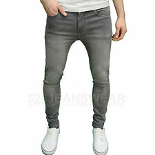 Enzo Mens Designer Branded Stretch Super Skinny Fit Jeans, BNWT