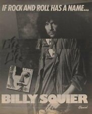 Billy Squier LP advert 1984