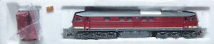 """Roco 43706 ; Diesellok BR 132 """"Taigatrommel"""" DR, DIG ESU Sound in OVP /P003"""