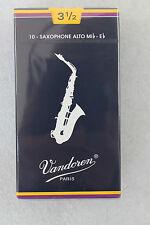 NEU! OVP! 10 x Vandoren Blätter für Alt-Saxophon, Classic, 3,5 Stärke