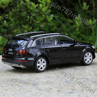 Model Car Audi Q7 1:32 Alloy Diecast Sound&Light Toys Collection&Gifts Black New