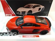 Audi R8 V10 Plus • 2015 • NEU • Maisto Exclusive • 1:18