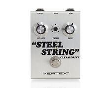 Vertex Steel String Clean Drive Guitar Effects Pedal