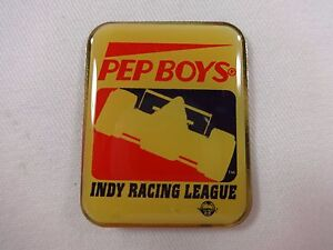PEP BOYS Indy Racing League IRL Collector Hat Lapel Pin IndyCar Series Indy 500