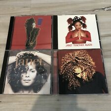 Janet Jackson 4 Cd Lot- Control Together Again Maxi Single Janet Velvet Rope