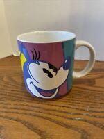 Vintage Disney Minnie Mouse Coffee Mug Cup Japan EUC RARE
