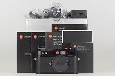 Leica M9 Schwarz 10704 OVP 4000 Auslösungen Sensortausch 04/2019