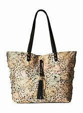 NWT Jessica Simpson Rodica Tote Bag, Island Cheetah/Black, MSRP: $98.00