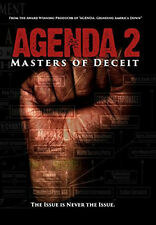 Agenda 2 Master of Deceit Dvd Documentary Series Curtis Bowers Brand New