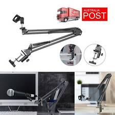 Microphone Suspension Boom Arm Desktop Stand Mic Holder Mount