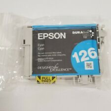 Epson DuraBrite Ultra 126 (T127120BCS) Cyan Ink Cartridge - New out of box
