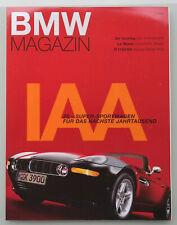 BMW Z8 Premiere BMW Magazin IAA 1999 - 132 Seiten - Sonderausgabe