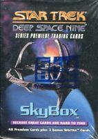 Star Trek Deep Space Nine Series Premiere Complete 50 Card Factory Set