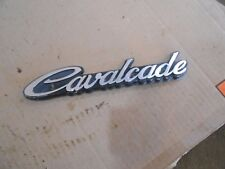 Suzuki Cavalcade GV1400 GV 1400 GV1400GT rear trunk luggage emblem badge